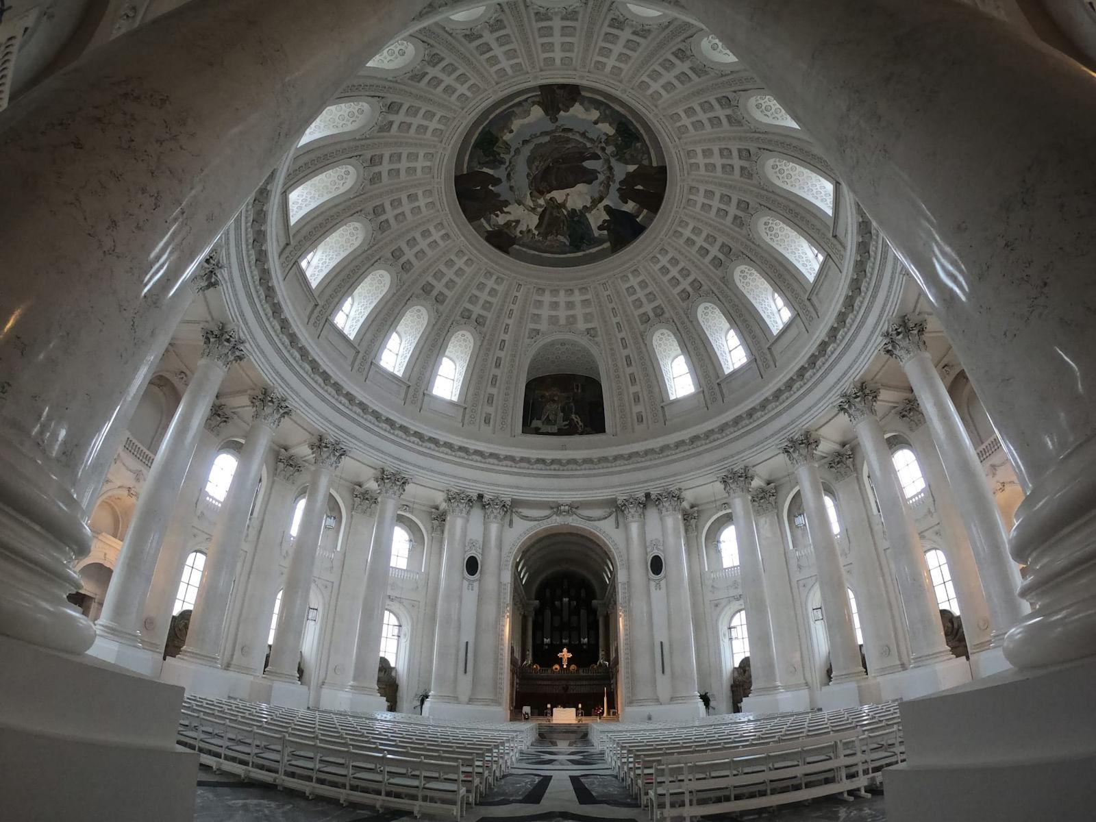 Die Kuppel vom Dom in St. Blasien